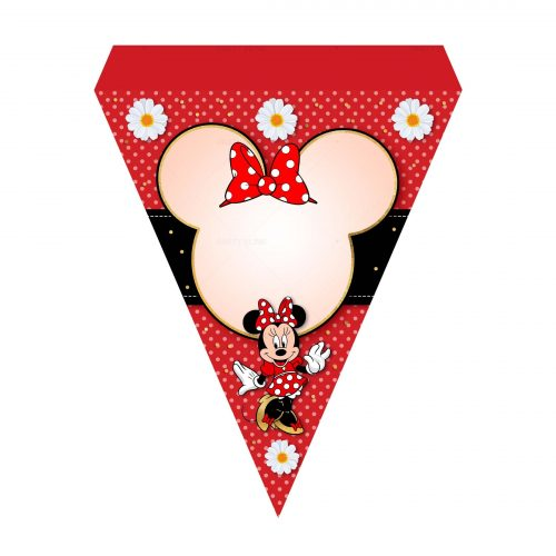Printable Minnie Letter Banner Free - Party Blink