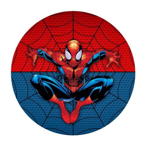 Spider-Man Round Label