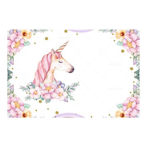 Unicorn Invitation Free Printable - Party Blink