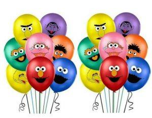 sesame steet balloons ebay 2